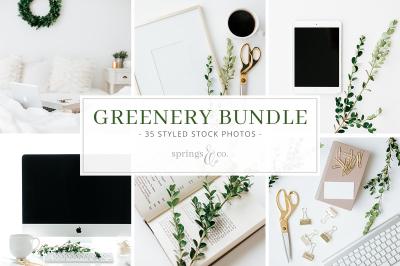 Greenery Styled Stock Photo Bundle