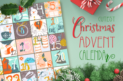 Cutest Christmas Advent Calendar