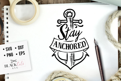 Stay anchored SVG