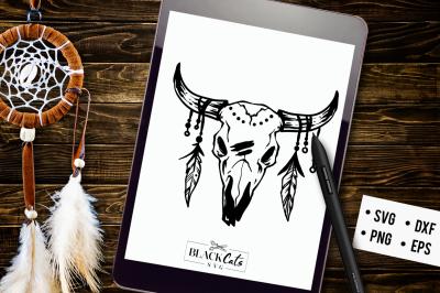 Bull head SVG