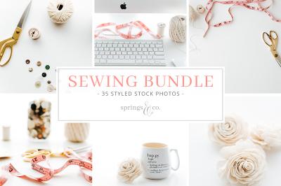 Sewing Styled Stock Photo Bundle