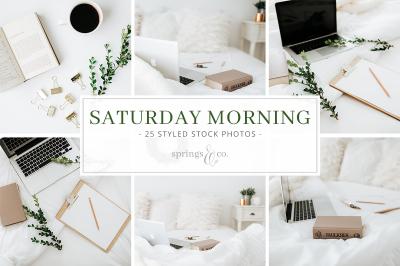 Saturday Morning Styled Stock Photo Bundle