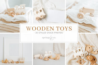 Wooden Toys Styled Stock Bundle