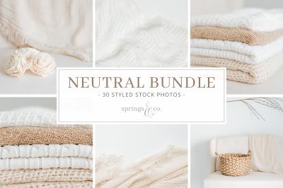 Neutral Styled Stock Photo Bundle