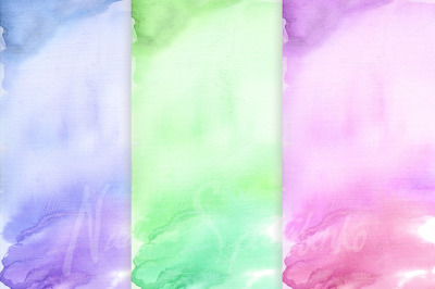 31 colorful watercolor background