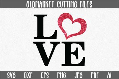 Love SVG Cut File
