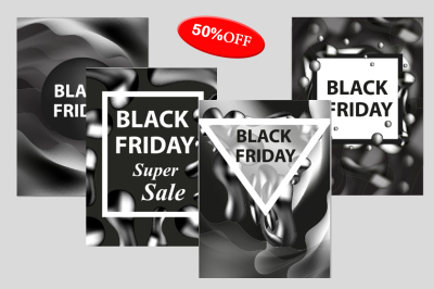 Black Friday collection of templates