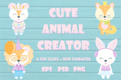 Cute Animal Creator
