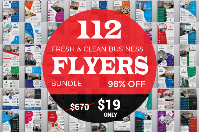 112 Fresh Business Flyers 98% OFF