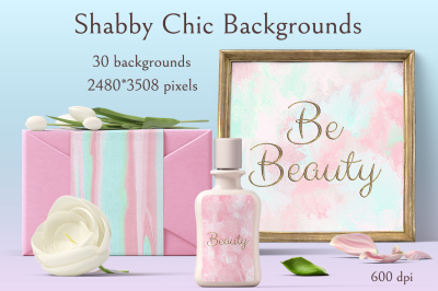 Shabby Chic Backrounds