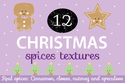 Christmas Spices Textures