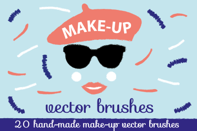 Make-up Illustrator Brushes