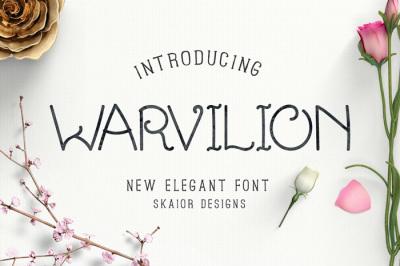 Warvilion Font