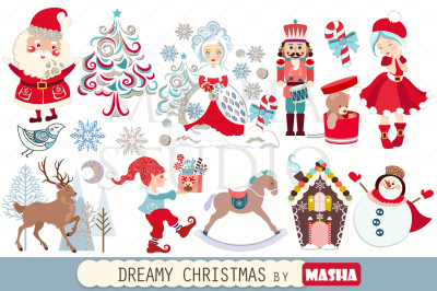 DREAMY CHRISTMAS clipart