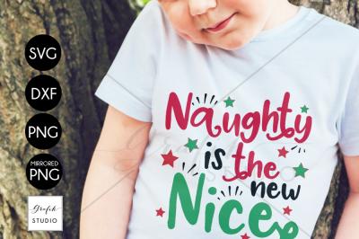 Naughty Is The New Nice CHRISTMAS SVG File Bundle
