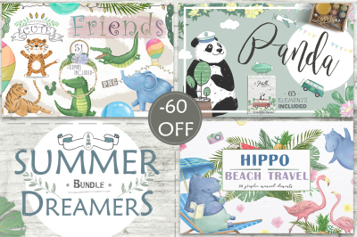 60% off Summer Dreamers Bundle