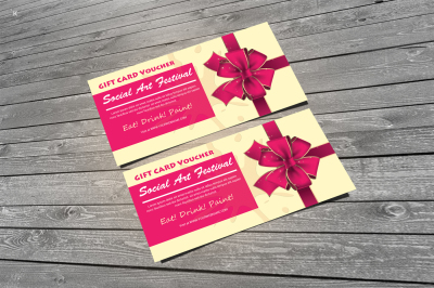 Gift Card Voucher