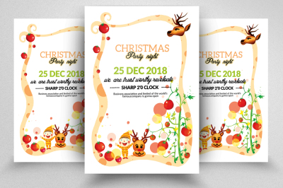 Christmas Event Flyer
