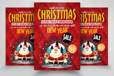 X-max Christmas Flyer