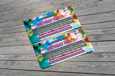 Birthday Party Voucher