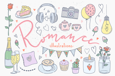 Romance Illustrations