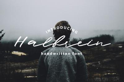 Halbrein Handwritten Script