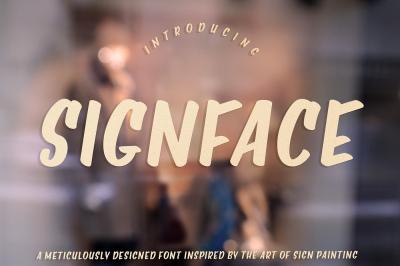 Signface