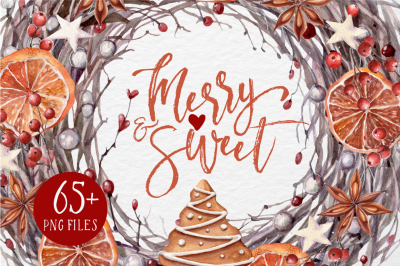 MERRY&SWEET Watercolor set