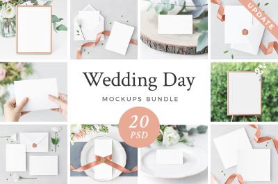 Wedding Day Mockup Bundle