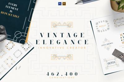 Vintage Elegance Innovative Creator -30%