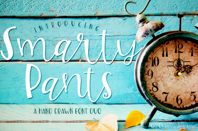 Smarty Pants Font Duo