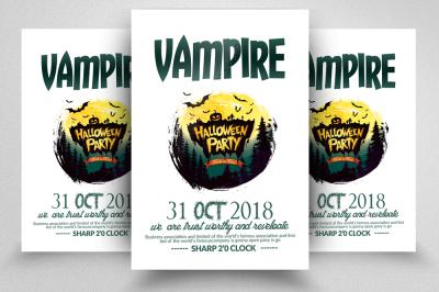Halloween Event Flyer Templates