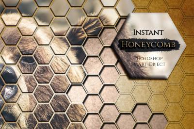 Instant Honeycomb Effect