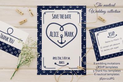 Nautical Wedding Collection