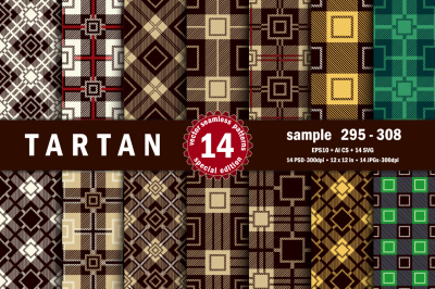 Seamless  Tartan Pattern Part - 22