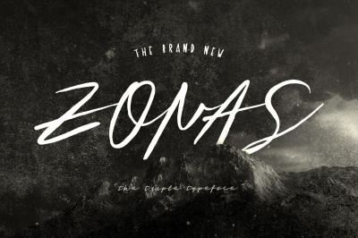 Zonas - Triple Typeface