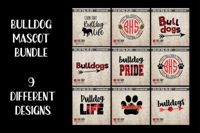 Bulldogs Mascot Bundle