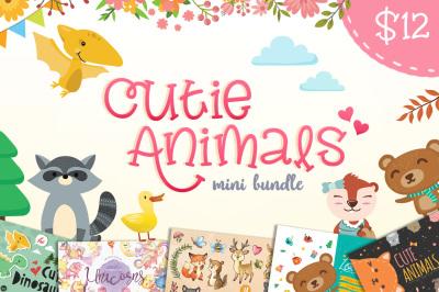Cutie Animals mini bundle- 90% OFF!!