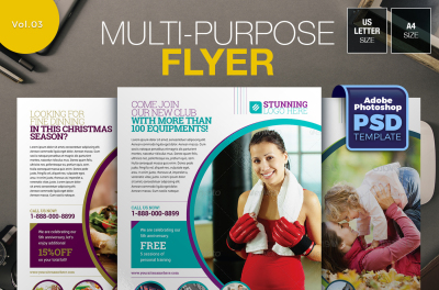 Multi-purpose Flyer Template Vol.03