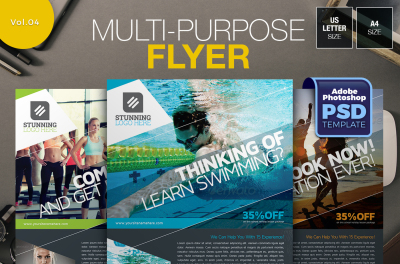 Multi-purpose Flyer Template Vol.04