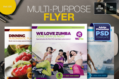 Multi-purpose Flyer Template Vol.05