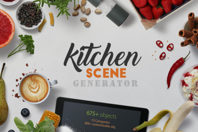 Kitchen Scene Generator