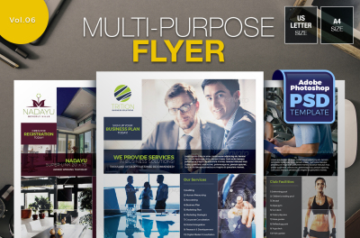 Multi-purpose Flyer Template Vol.06