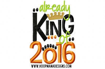 Already King of 2016