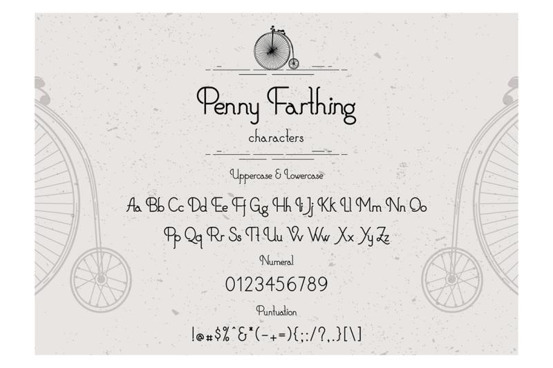 penny-farthings