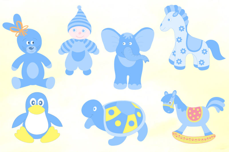 cute-baby-toys-vector-set