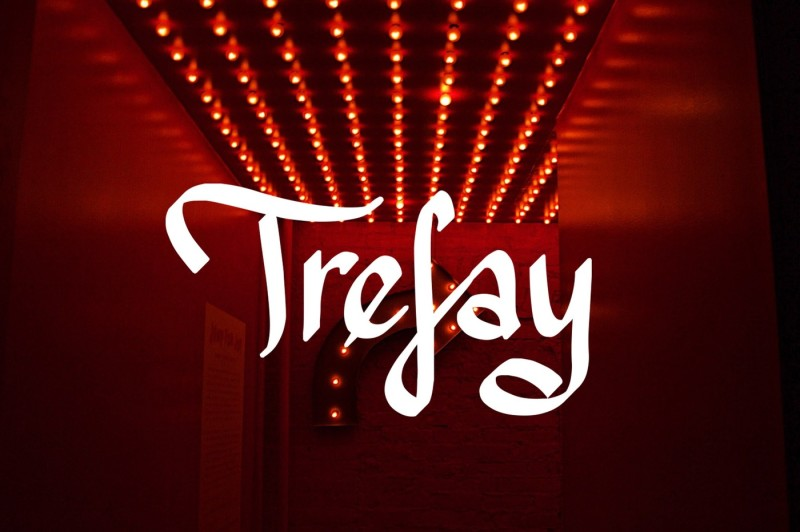 trefay-handwritten-font