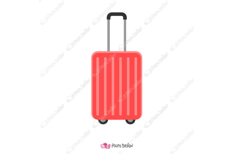 rolling-suitcase-clipart