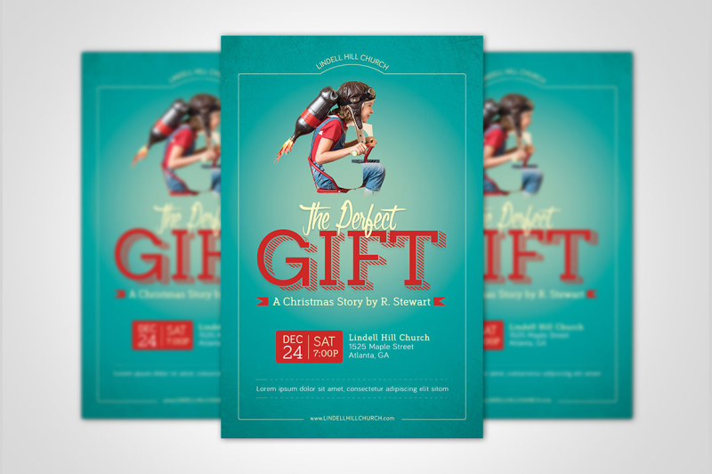 perfect-gift-church-flyer-poster-template