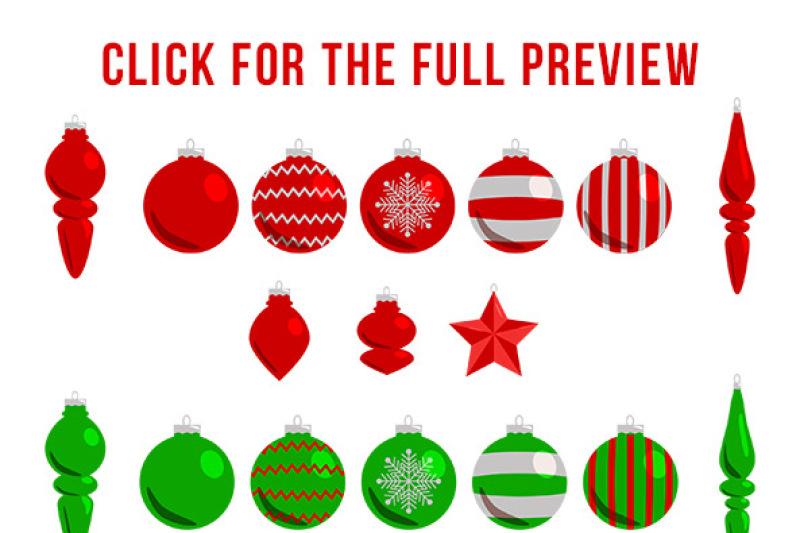126 Christmas Clipart Mega Bundle Winter Clipart Holiday Clipart